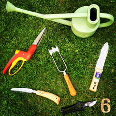 Tinker and Fix - 'Rule of 6' - Garden tools