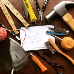Wish List from Tinker and Fix for gifts for makers, menders, gardeners, DIY