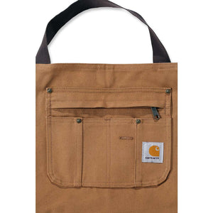 close up image of Carhartt apron front pocket