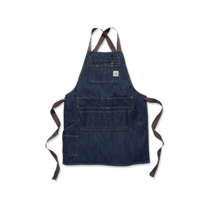 image of Carhartt denim blue apron