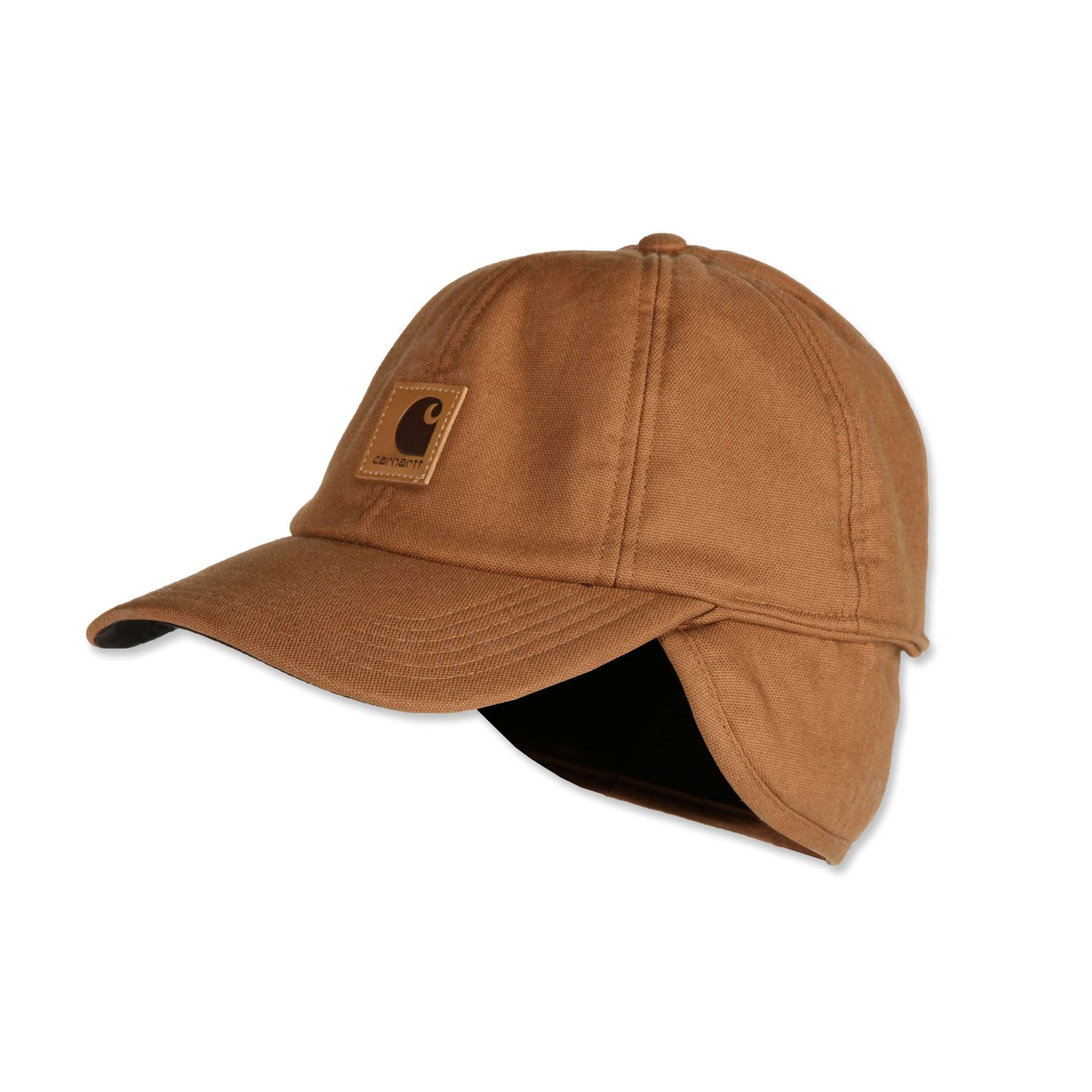 Carhartt Flex Ear Flap Cap Carhartt Brown