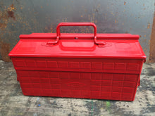 Toyo Steel ST-350 WorkBox Red
