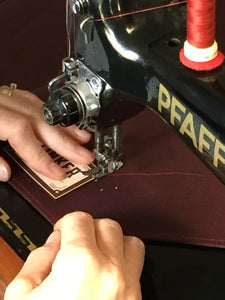 Tinker and Fix The Frank Tool Roll being made
