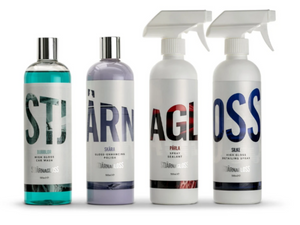 Stjarnagloss Core Four Kit Car Cleaning Kit