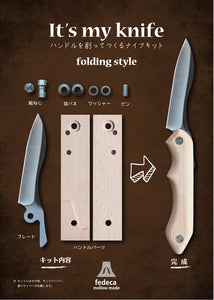 Fedeca It's My Knife Folding Knife Kit