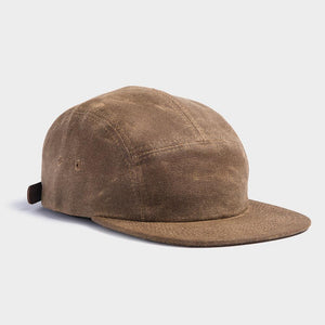 Otter Wax 5 Panel Camp hat front