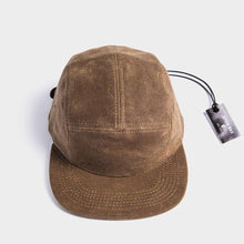 Otter Wax 5 Panel Camp hat top