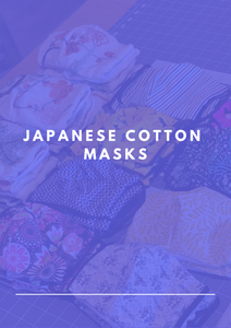 Japanese Cotton Masks - KDesign Fitness
