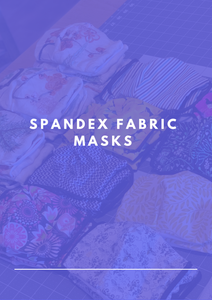 Spandex Fabric Masks - KDesign Fitness