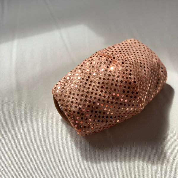 JLo Sparkly Peach Mask - KDesign Fitness