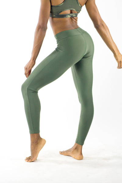Jelly Beans Olive Leggings - KDesign Fitness