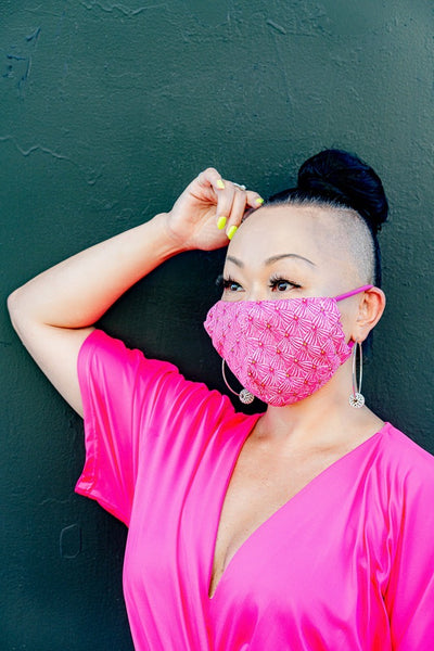 Vivid Pink Mask - KDesign Fitness