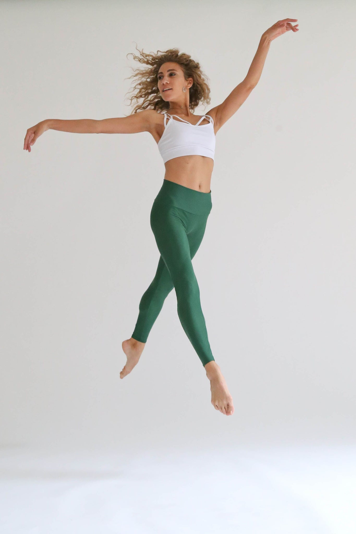 Jelly Beans Green Leggings - KDesign Fitness