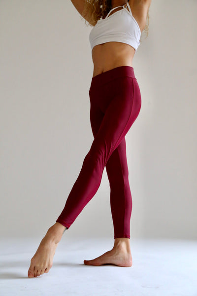 Jelly Beans Burgundy Leggings - KDesign Fitness