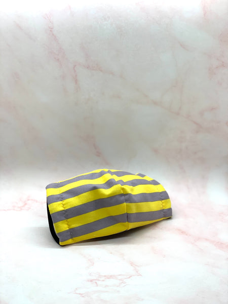 Yellow stripes Mask - KDesign Fitness
