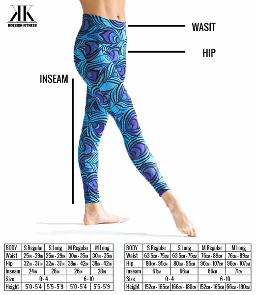 Jelly Beans Chocolate Brown Leggings - KDesign Fitness