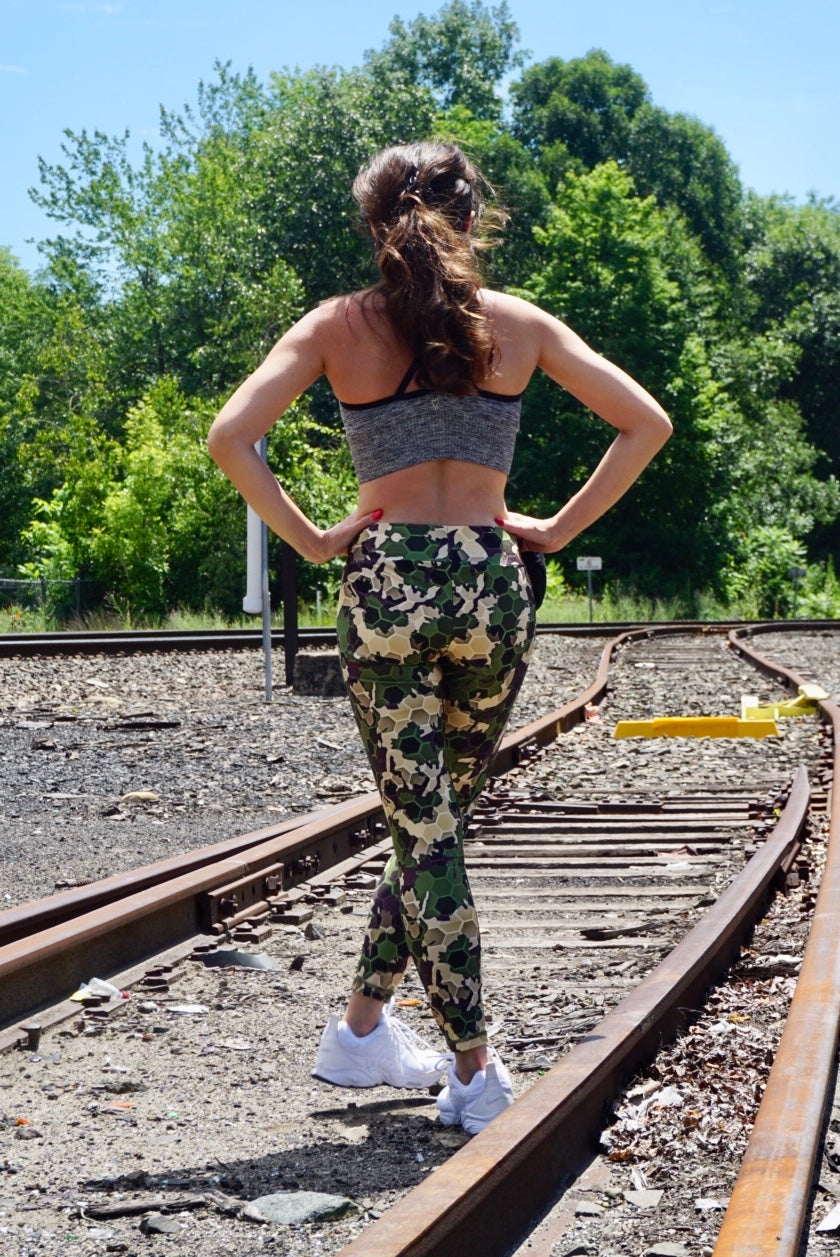 Camouflage Leggings - KDesign Fitness