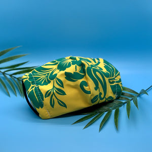 Hawaiian Yellow x Green Mask - KDesign Fitness