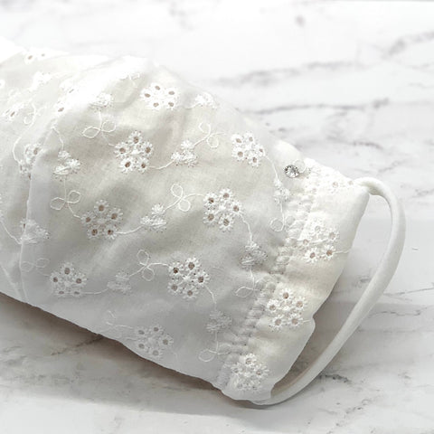 White Lace Mask - KDesign Fitness