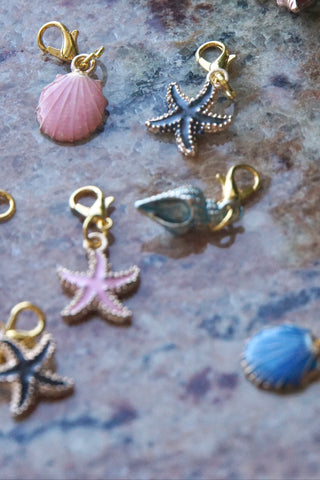 Seashells 🐚 Mask Charms - KDesign Fitness