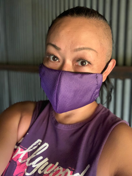 Athlete Purple Mask - KDesign Fitness
