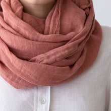 Load image into Gallery viewer, Canyon Rosa Garza Linen Scarf