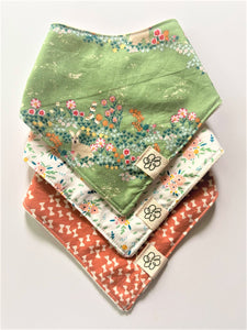 Baby Bandana Bib Set of 3