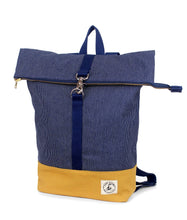 Load image into Gallery viewer, Brightday Backpack - Denim Stitch