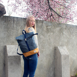 Brightday Backpack - Denim Stitch