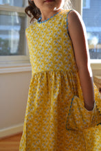 Load image into Gallery viewer, Yellow Floral Dress