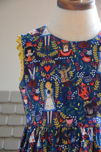 Sleeveless Alice in Wonderland Dress