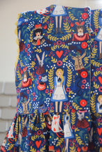 Load image into Gallery viewer, Sleeveless Alice in Wonderland Dress