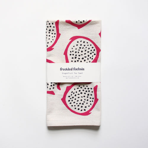 Dragonfruit Tea Towel