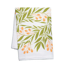 Load image into Gallery viewer, Tuscan Florals Tea Towel