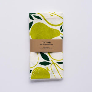 Pears Tea Towel