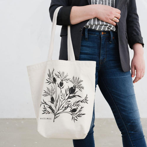 Thistle Field Large Tote