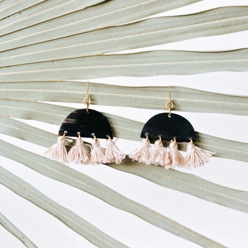 FAZA TASSEL EARRINGS
