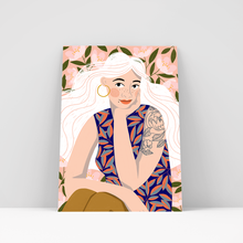 Load image into Gallery viewer, Blossom Girl Print