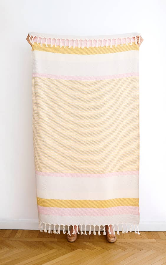 Blu Kat Ibiza Cotton Throw