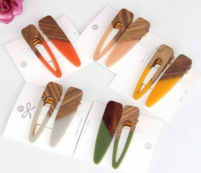Wood Clips (set of 2)