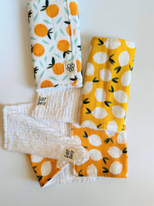 Summer Burp Cloth