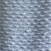 Load image into Gallery viewer, Boucle Woven Throw - Coastal Blue
