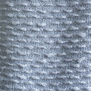 Boucle Woven Throw - Coastal Blue