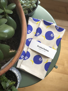 Blueberry Tea Towel