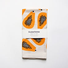 Load image into Gallery viewer, Papaya Tea Towel