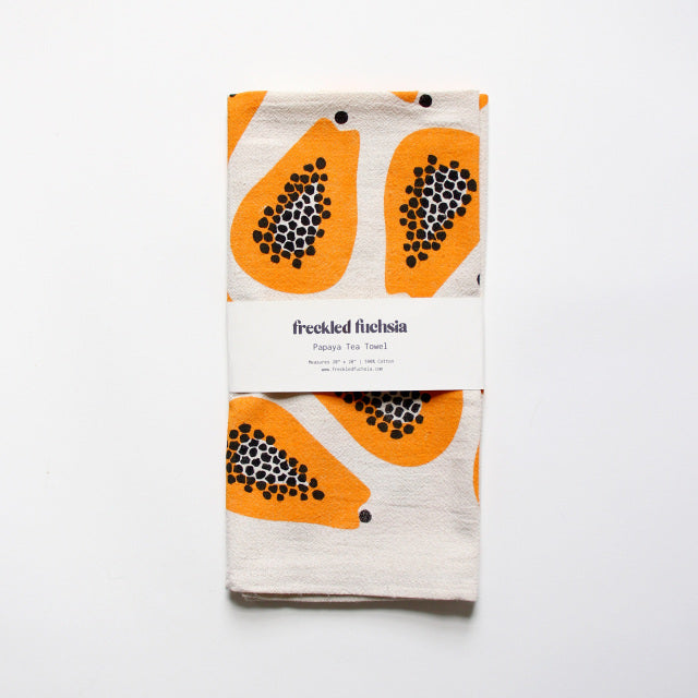 Papaya Tea Towel