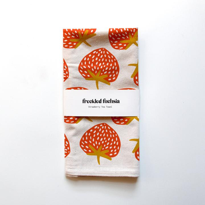 Strawberry Tea Towel