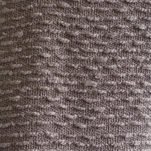 Boucle Woven Throw - Gray