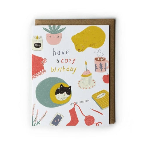 Have a Cozy Birthday Card