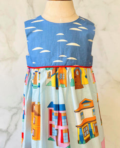 Vintage-inspired House Dress